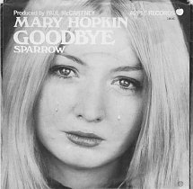 Goodbye (Mary Hopkin song) 1969 song performed by Mary Hopkin
