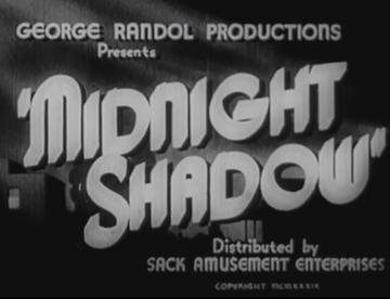 Midnight Shadow movie poster