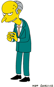 Mr Burns Wikipedia