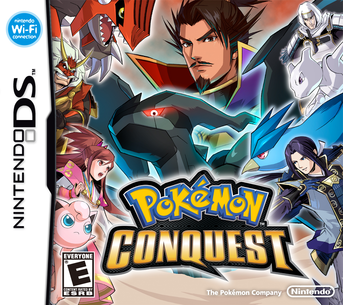 Picture of a game: Pokémon Conquest