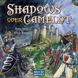 <i>Shadows over Camelot</i> board game