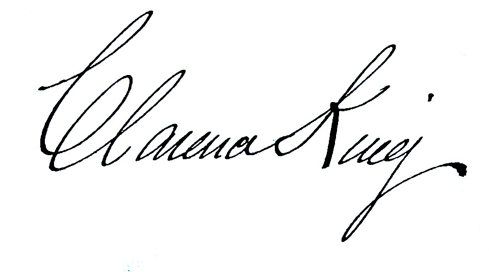 File Signature Of Clarence King Jpg Wikipedia