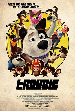 Picture of a movie: Dog Gone Trouble