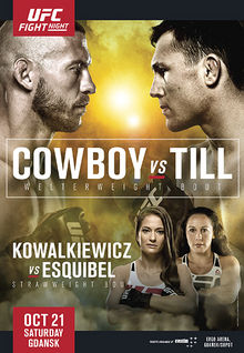 UFC Fight Night Gdansk Cowboy vs. Till Poster.jpg