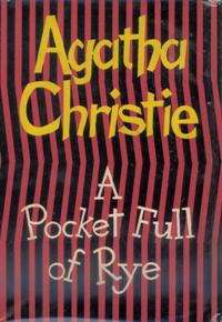 <i>A Pocket Full of Rye</i> 1953 Miss Marple novel by Agatha Christie