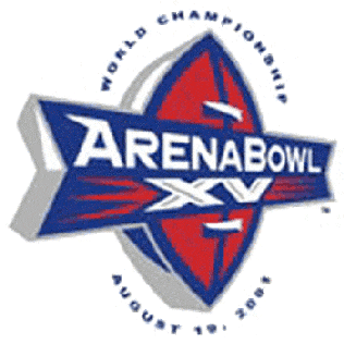 ArenaBowl XV 2001 edition of the Arena Football Leagues championship game