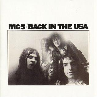 Image result for MC5 - Back in the USA