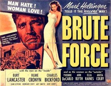 Brute Force (1947) movie poster