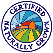 Logo for certified naturally grown