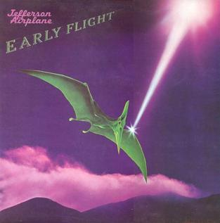 <i>Early Flight</i> 1974 compilation album by Jefferson Airplane
