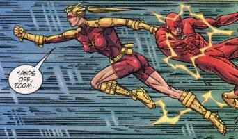Jesse Chambers saving Wally West