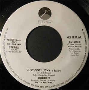 Just Got Lucky (Dokken song)