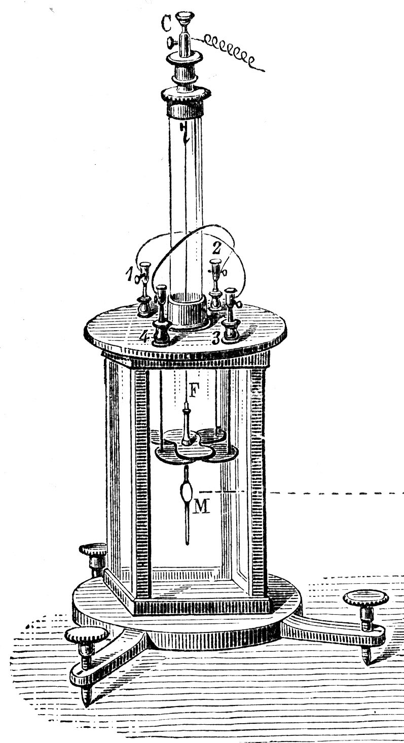 Electrometer Wikipedia Learn How To Read An Electrical Drawings Instrumentation And Kelvins Quadrant Electrometeredit