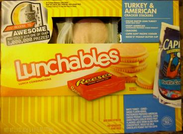 File Lunchables  turkey and american cracker stackers on different kinds of lunchables