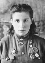 Mariya Shkarletova Hero of the Soviet Union