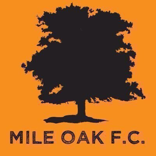 Mile Oak F.C. Association football club in England