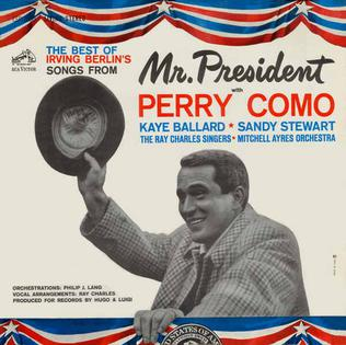 the best of irving berlins songs from mr president