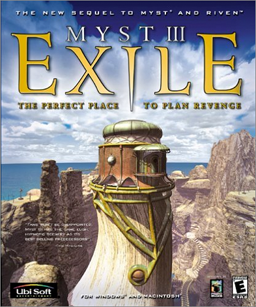 <i>Myst III: Exile</i> Third title in the Myst series of graphic adventure puzzle video games