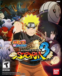 Naruto Shippuden Ultimate Ninja Storm 3 Full Burst Cover