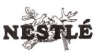 Nestlé's logo used until 1970s.