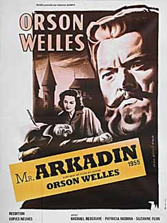 Poster3 Orson Welles Mr. Arkadin Confidential Report