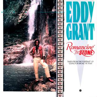Romancing the Stone (song) 1984 single by Eddy Grant