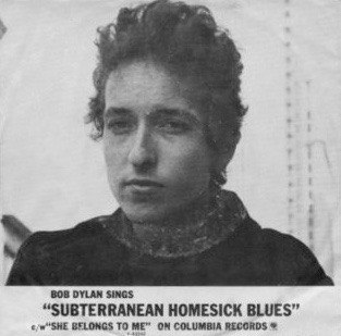 Image result for subterranean homesick blues