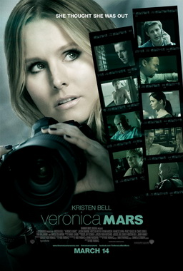 Movie release poster for Veronica Mars, courtesy Warner Bros. Pictures