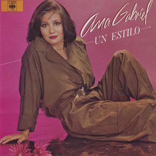 <i>Un estilo</i> 1985 studio album by Ana Gabriel
