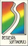 Bethesda Softworks' original logo, circa 1986.