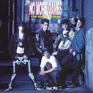 <i>No More Games/The Remix Album</i> 1990 remix album by New Kids on the Block