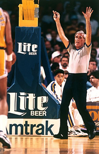 Earl Strom American basketball referee