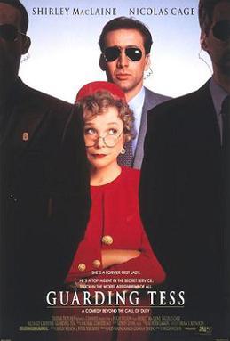 Guarding Tess 1994 - Nicolas Cage Film Posterleri