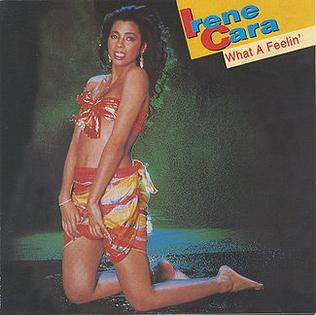 irene cara what a feeling lyrics
