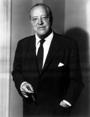 Portrait of Ludwig Mies van der Rohe