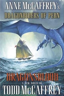 <i>Dragonsblood</i> book by Todd McCaffrey
