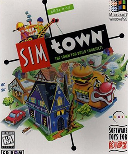"""SimTown"" Cover Art"