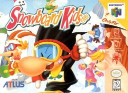 Snowboard Kids box cover