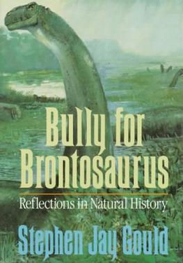 Bully for brontosaurus essay