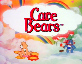 Care Bears Birthday Cake Toppers