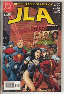 Cover to JLA #109.