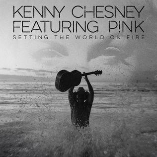 Setting the World on Fire single by Kenny Chesney