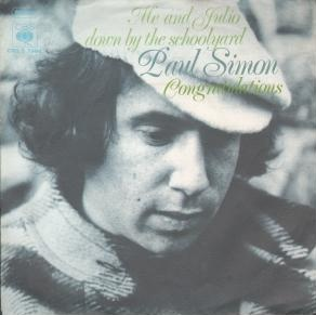 Me and Julio Down by the Schoolyard 1972 single by Paul Simon