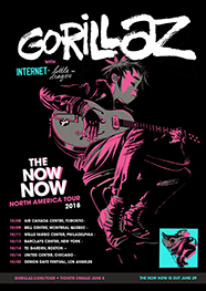 The Now Now Tour 2018 concert tour by Gorillaz
