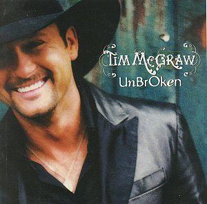 Imagem da capa da música Unbroken de Tim McGraw