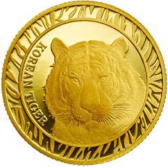2019 Republic Of Korea Korean Tiger 1 oz Silver Proof Coin w//Box /& COA