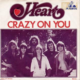 Crazy on You Heart single