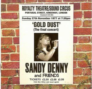 <i>Gold Dust</i> (Sandy Denny album) 1998 live album by Sandy Denny