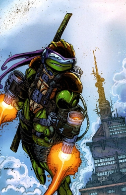 Image result for donatello ninja turtle comic