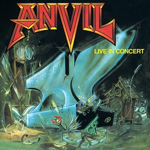 <i>Past and Present – Live in Concert</i> 1989 live album by Anvil